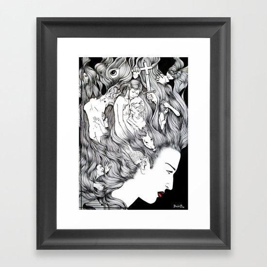 MIND'S EXTASY Framed Art Print