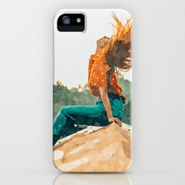 Live Free #painting iPhone Case
