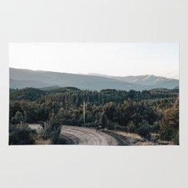 road to Cerro chapelco Rug