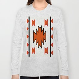 American Native Pattern No. 97 Long Sleeve T-shirt