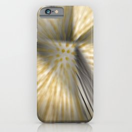 Implosion of vibration iPhone Case