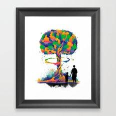 Alternate ending Framed Art Print