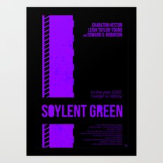 SOYLENT GREEN Art Print