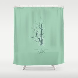 Tree Branches II - Univers Shower Curtain
