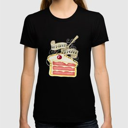 Let Them Eat Cake Vintage Tattoo Style T-shirt