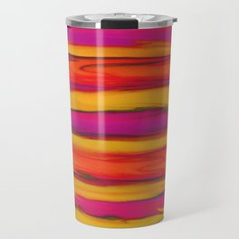Tropical Beach Sunset Paradise Travel Mug
