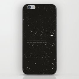 Do not go gentle into that good night.... iPhone Skin