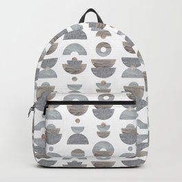 semicircle pattern Backpack