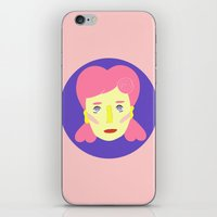 death cab for cutie iPhone & iPod Skins featuring Cutie by Grace Teaney Art