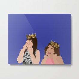 KWEENS- Abbi and Ilana Metal Print