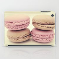 macaroons iPad Cases featuring macaroons by  Alexia Miles photography
