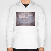 periodic table Hoodies featuring periodic table of elements by Bekim ART