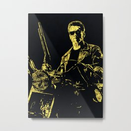 Terminator - The Legend Metal Print