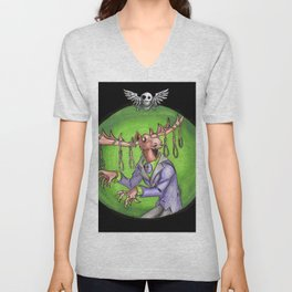Noose Moose Dark Unisex V-Neck