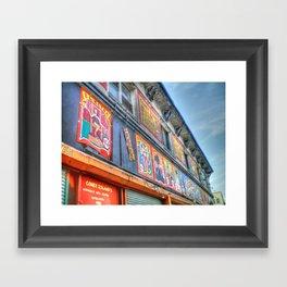 Coney Island USA Building Framed Art Print