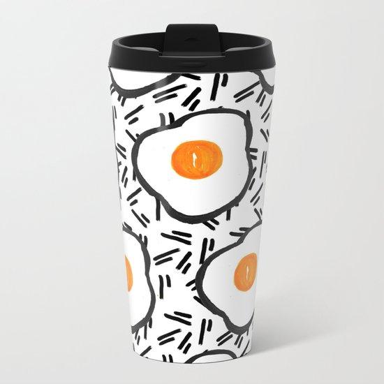 Eggs Metal Travel Mug