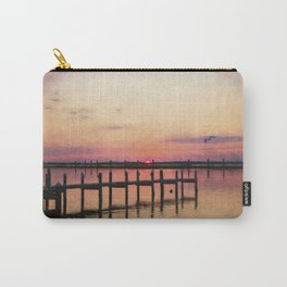 Sunset In Downtown Chincoteague II Carry-All Pouch