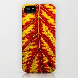 Tiger Leaf iPhone Case