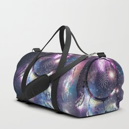 Cosmic Dreamcatcher design Duffle Bag