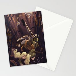 Alice Down the Rabbit Hole Stationery Cards