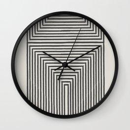 Tribal Modern Boho Art Wall Clock