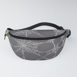 Spiderweb Pattern in Black Fanny Pack
