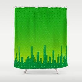 City Grunge Shower Curtain