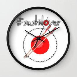 Sushi Lover Wall Clock