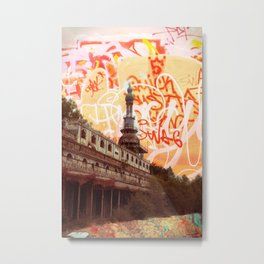 consonno graffiti Metal Print