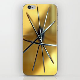 Abstract Whisk iPhone Skin