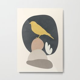 Cute Little Bird II Metal Print
