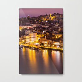 Old town Porto Portugal Metal Print