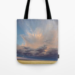 Sky Splash Tote Bag