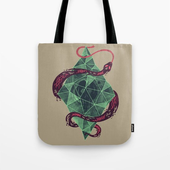 Mystic Crystal Tote Bag