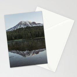 Sunrise at Reflection Lake - Mount Rainier Stationery Cards