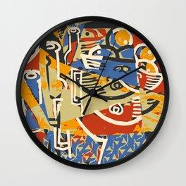 Fruit & Wine Wall Clock
