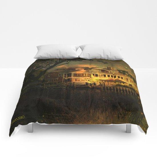 Spooky Boathouse Comforters