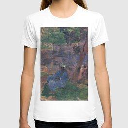 """Paul Gauguin - On the banks of the River at Martinique """"Au bord de la rivière"""" (1887) T-shirt"""