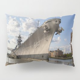 USS Wisconsin Pillow Sham