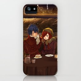 Christmas date - Jerza iPhone Case