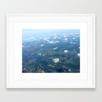arizona Framed Art Prints featuring Arizona by Lexi Spinelle