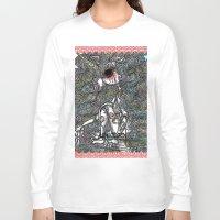 unicorn Long Sleeve T-shirts featuring Unicorn by AKIKO