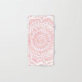 Blush Lace Hand & Bath Towel