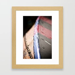 River Boat in Germany Framed Art Print