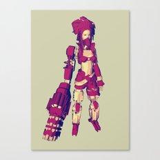 REBELLION Canvas Print