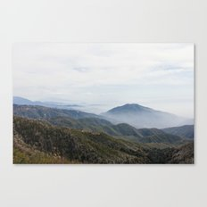 Rim of the World Highway Canvas Print