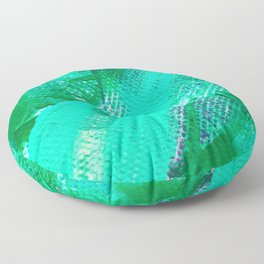 Green With Envy Floor Pillow
