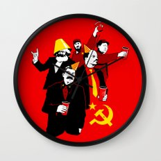 The Communist Party (variant) Wall Clock