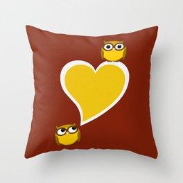 Hoo? Me? Throw Pillow