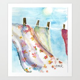 Fresh Air & Sunshine - Stephanie Rothwell Art Print